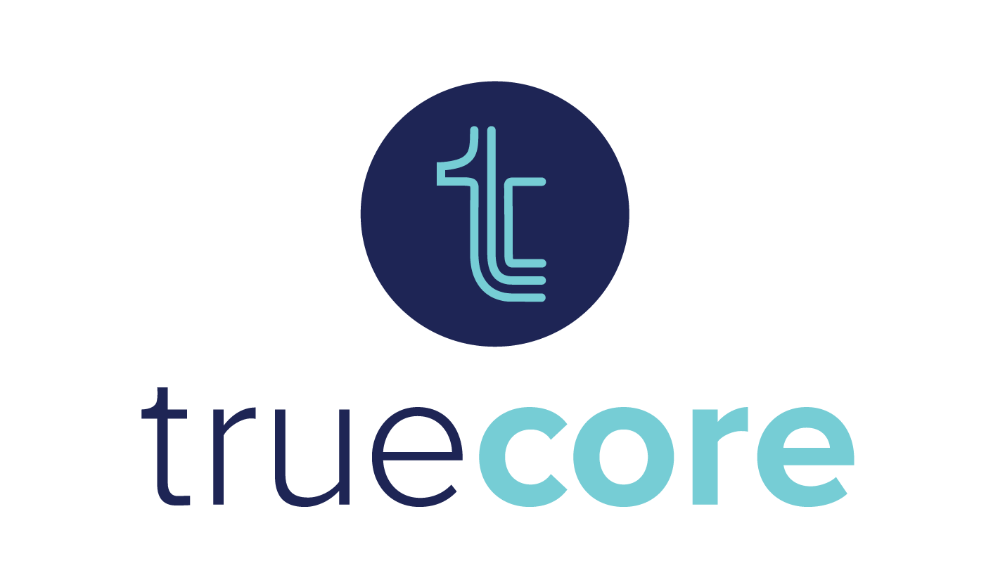 website design for truecore, pilates barre cycle