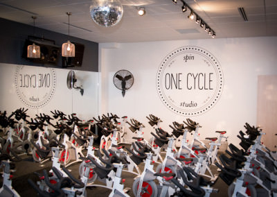 Brand Identity (signage) Design for One Cycle Spin Studio